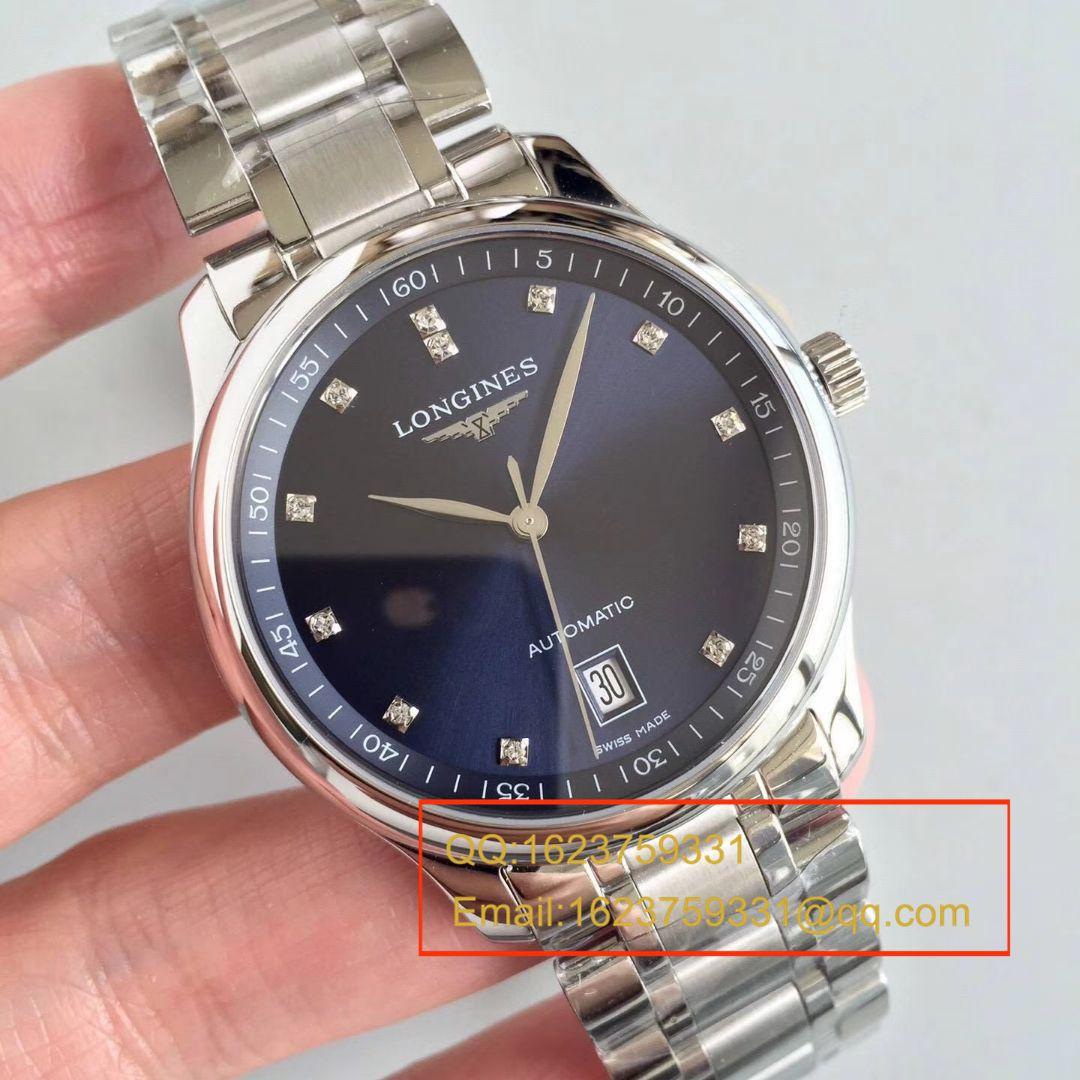 【MK一比一超A高仿手表】浪琴MASTER COLLECTION名匠系列 L2.628.4.97.6腕表