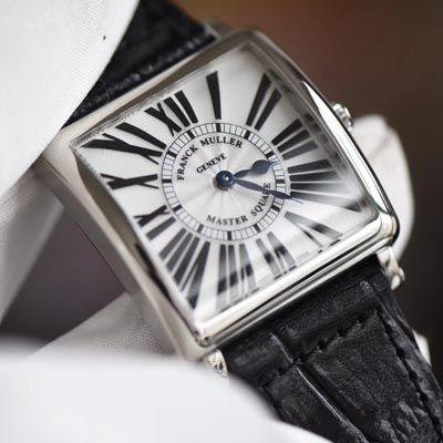 【GF一比一超A高仿手表】Franck Muller法穆兰MASTER SQUARE系列6002 M QZ女士石英腕表