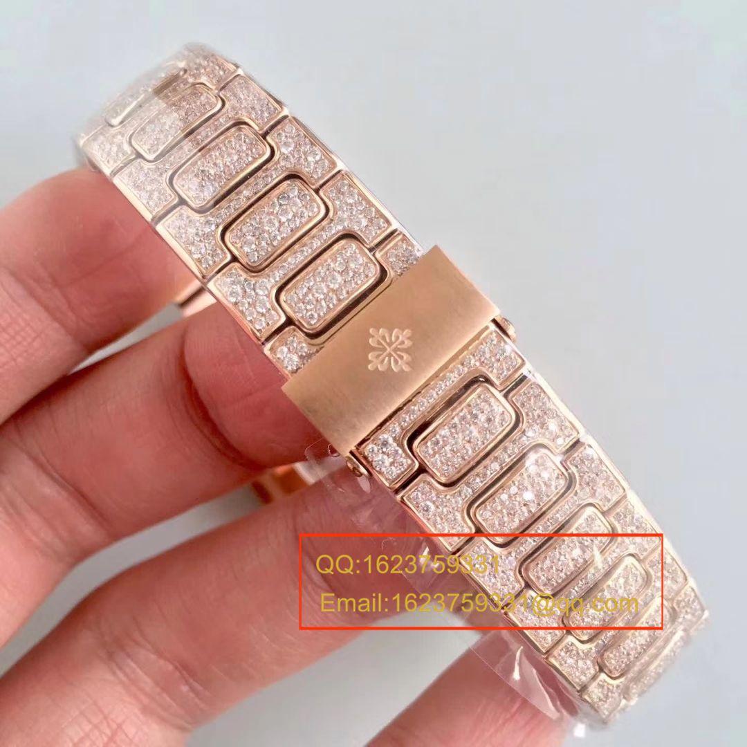 百达翡丽运动系列7021/1G-001(银壳)腕表/7021/1R-001(玫瑰金壳)(鹦鹉螺)女士腕表