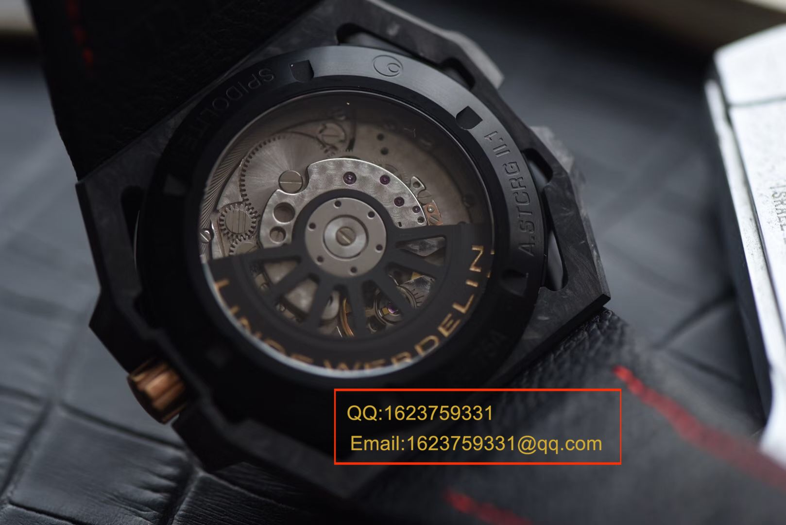 【XF厂一比一超A高仿手表】瑞士钟表制造商 Linde Werdelin (林德维纳)SPIDOLITE TECH GREEN watch