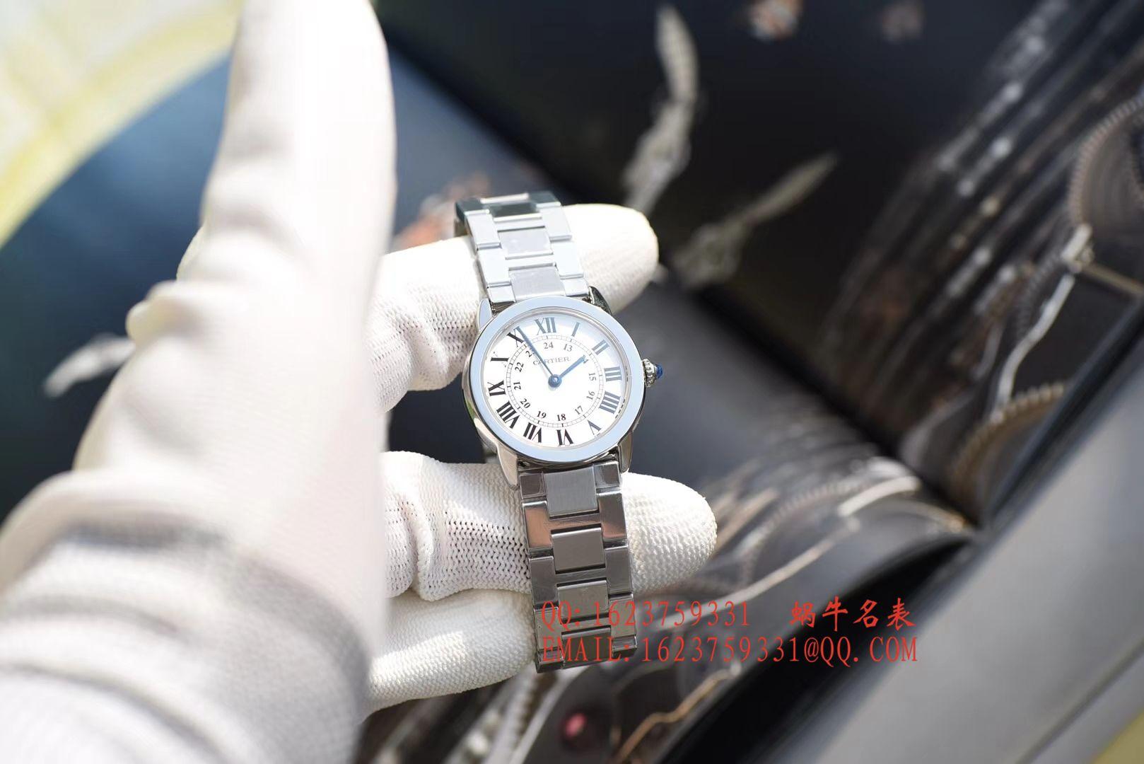 【K11一比一复刻手表】卡地亚RONDE DE CARTIER 伦敦SOLO系列W6701004、WSRN0012女士石英腕表 / KAD079