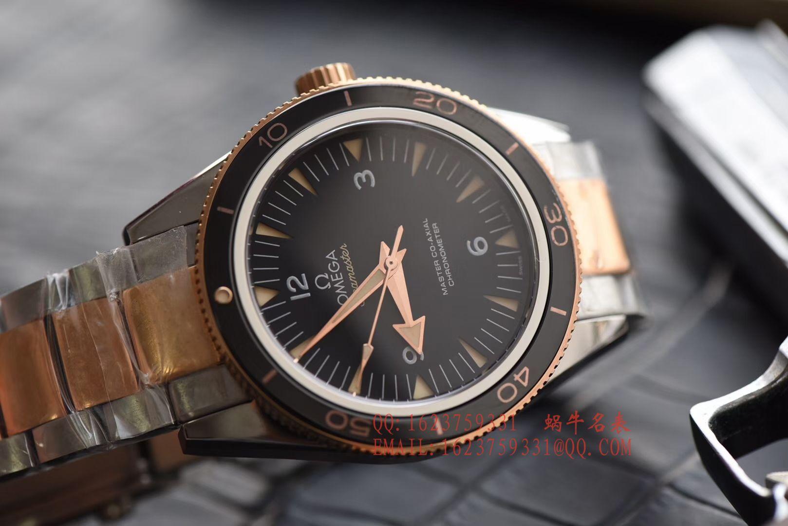【XF一比一超A高仿手表】欧米茄 海马300系列233.60.41.21.01.001腕表 / MAH185
