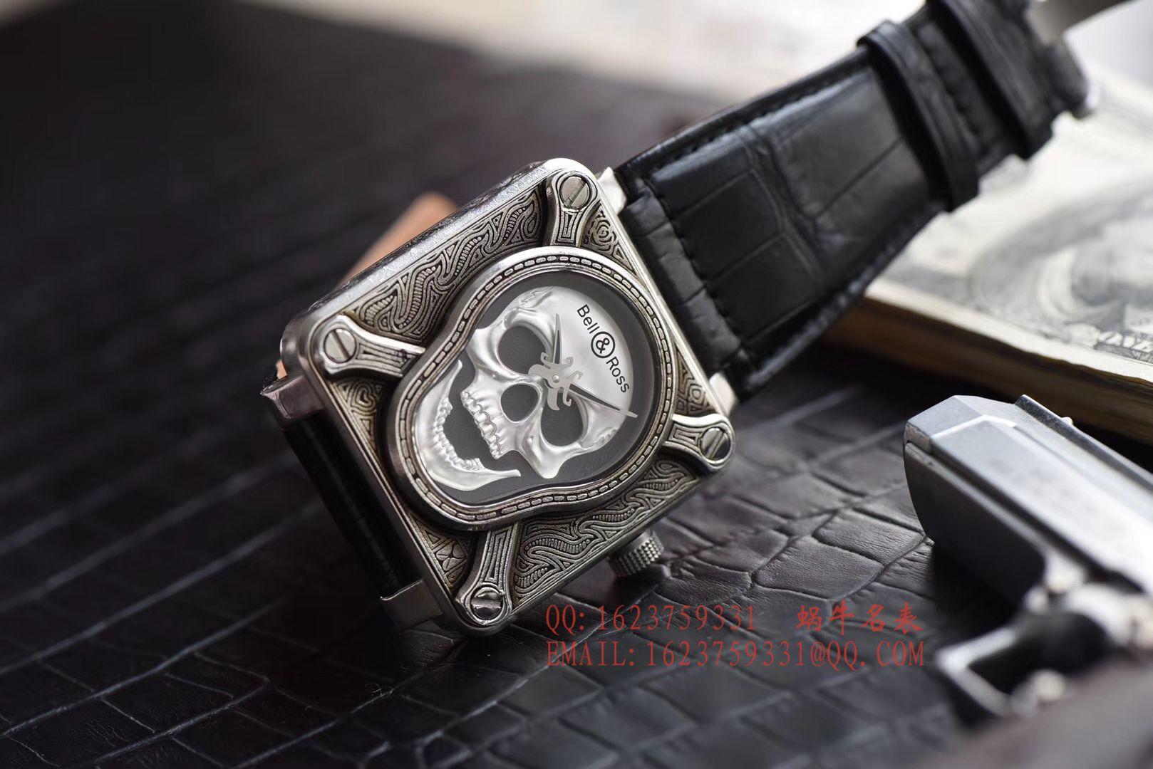 【独家视频评测】柏莱士BELL & ROSS BR 01 Burning skull  Instruments 系列限量版骷颅头