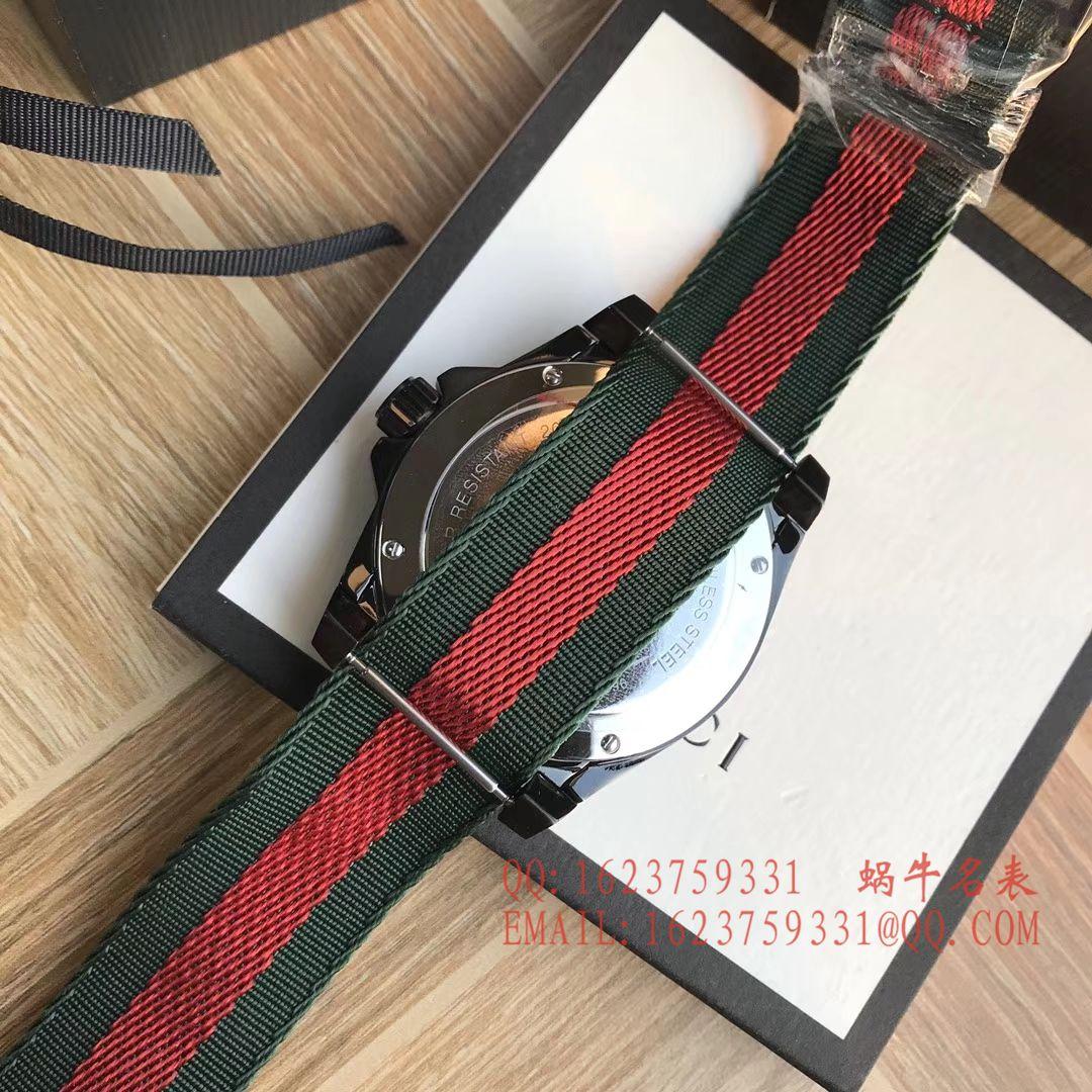 【香港原单 支持专柜验货】Original Gucci 古驰新款刺绣款Le Marché des Merveilles系列男表
