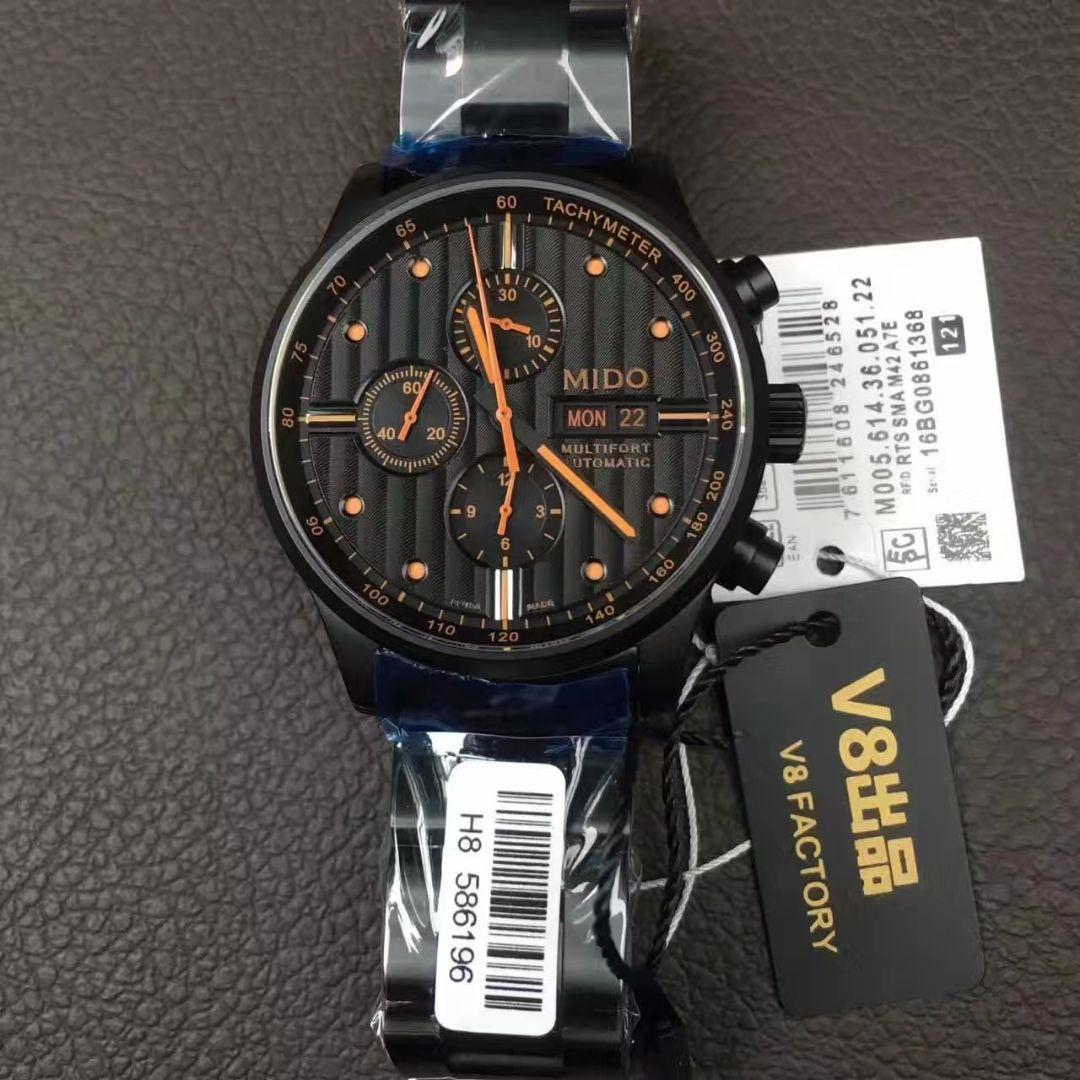 【V81:1超A高仿手表】美度舵手系列M005.614.36.051.22腕表 / M16