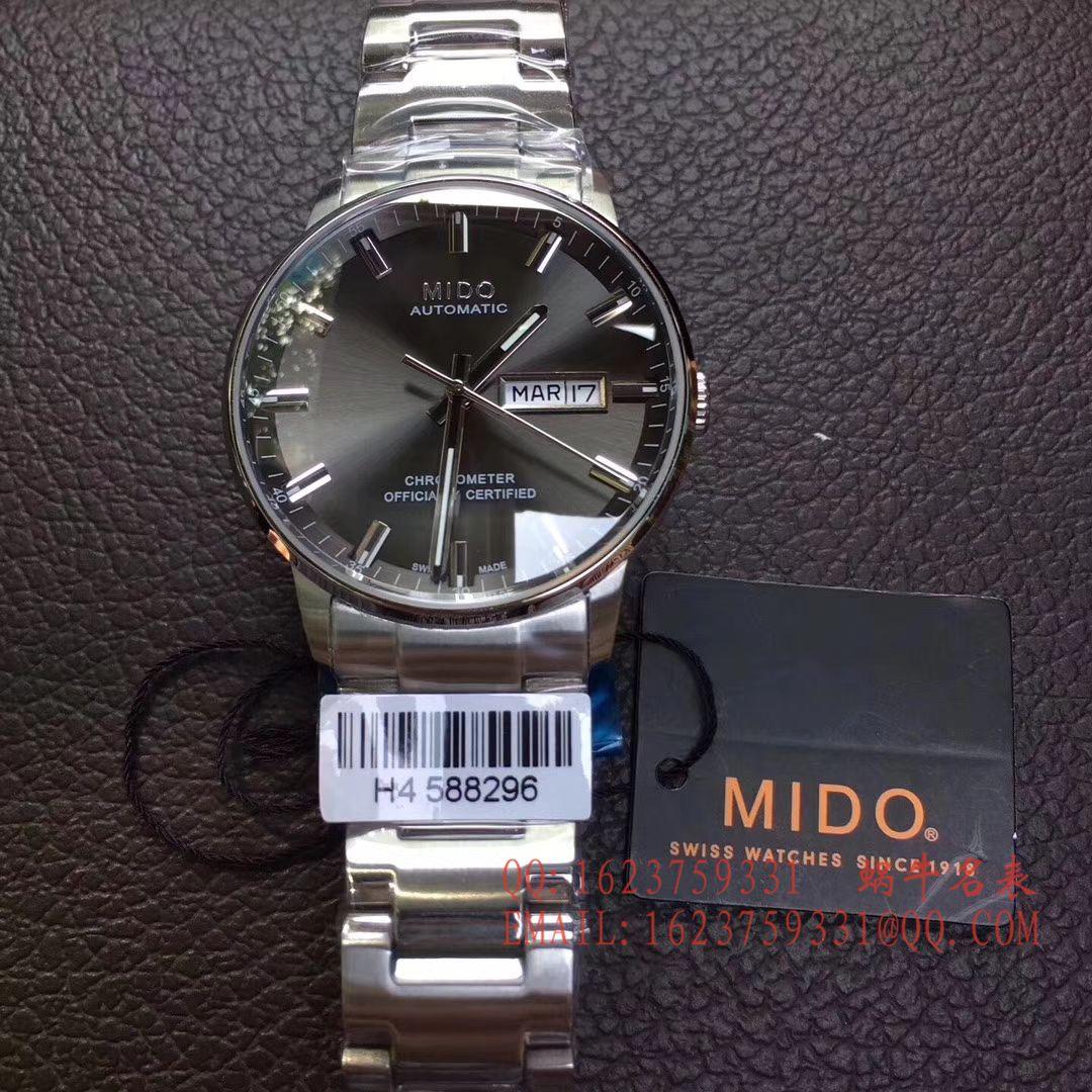 【台湾厂一比一超A高仿手表】美度指挥官系列M021.431.16.031.00腕表