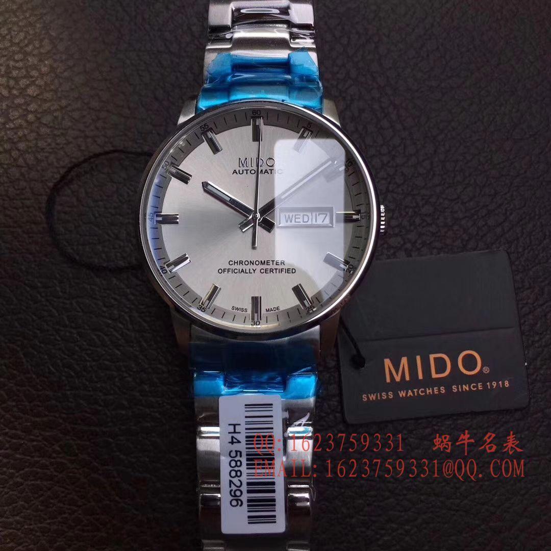 【台湾厂1:1超A高仿手表】美度指挥官系列M021.431.11.031.00腕表