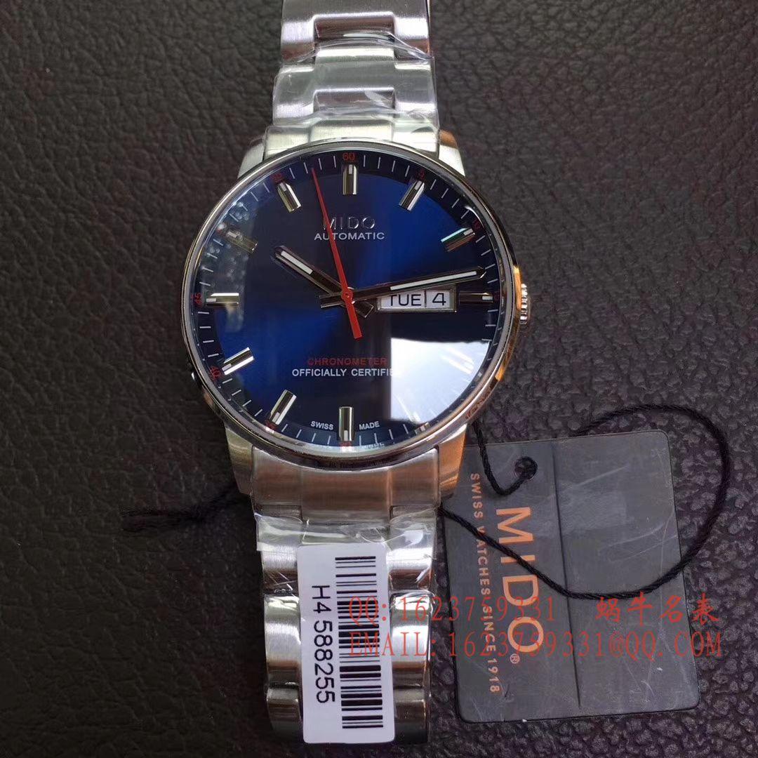 【台湾厂顶级复刻手表】美度指挥官系列M016.430.16.061.22腕表 / MD07