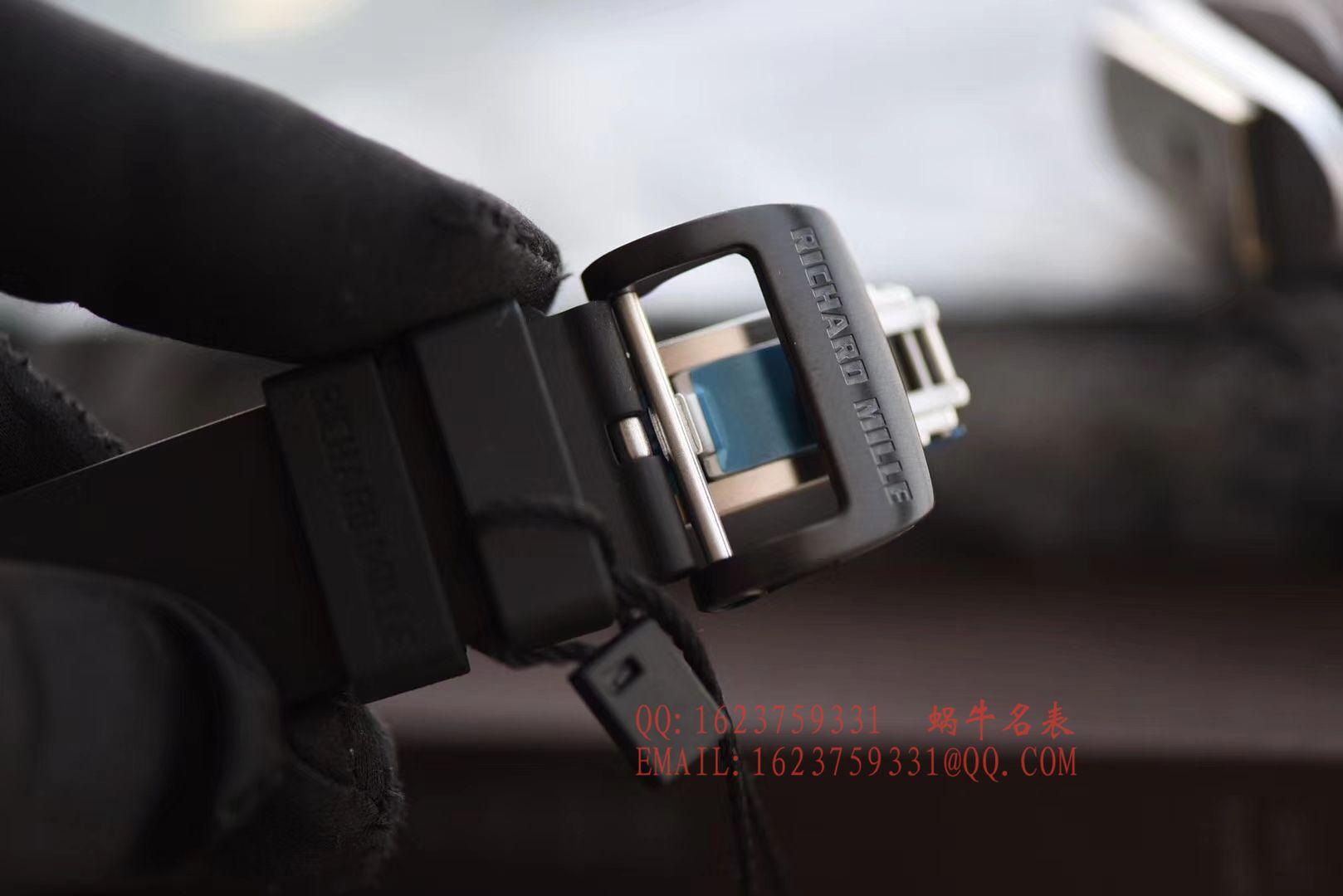 【独家视频评测KV厂顶级复刻手表】理查德.米勒RICHARD MILLE男士系列RM023-02立体鹰雕图案腕表 / RM 023-2