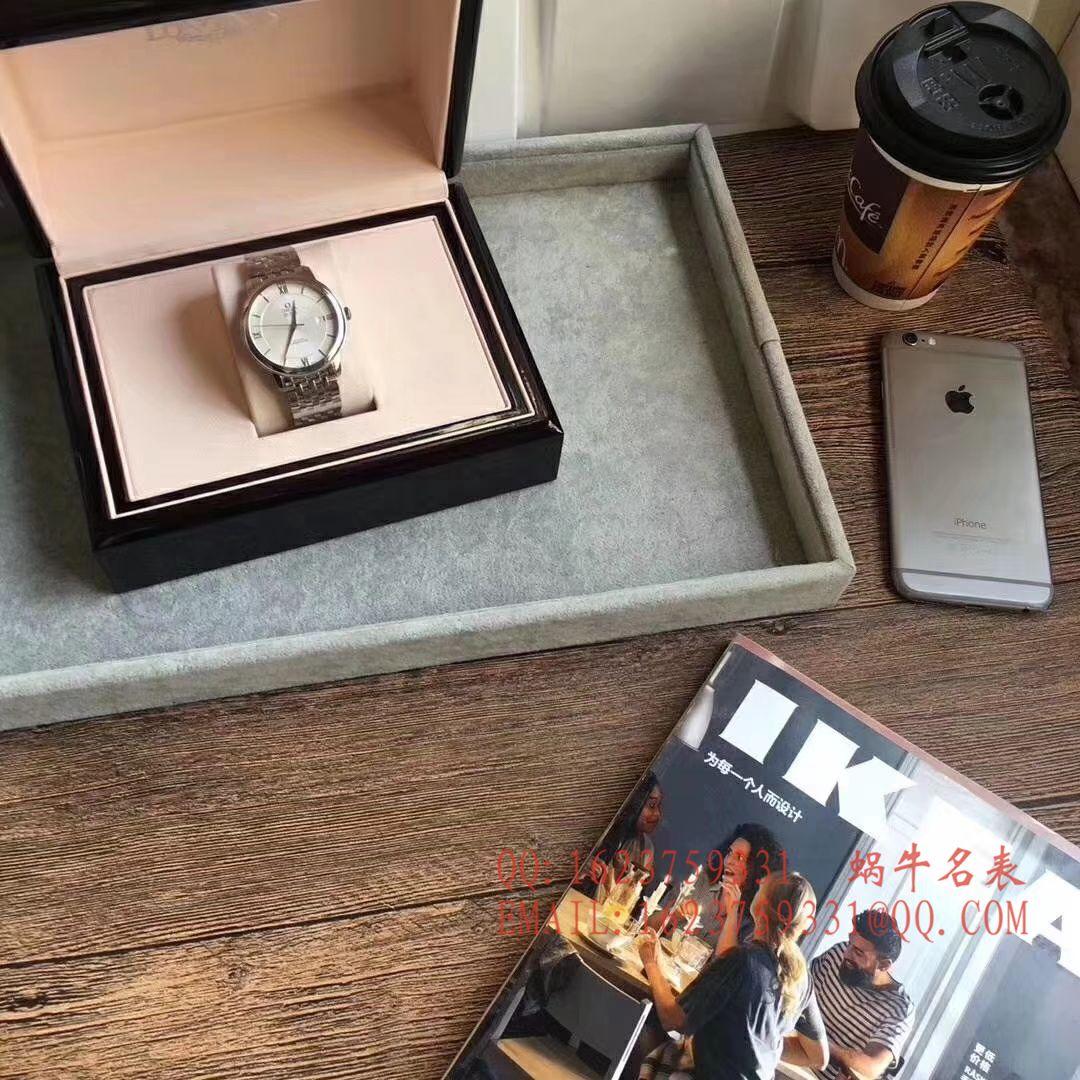 【实拍图鉴赏】MK厂1:1超A高仿手表之欧米茄碟飞系列424.13.40.20.02.001商务正装男表 / M218