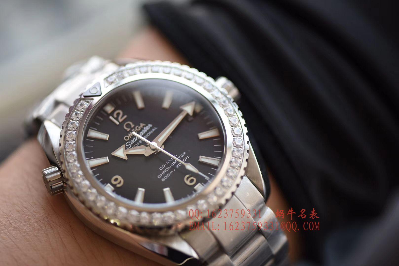 【KW一比一超A高仿手表】欧米茄海马海洋宇宙600米系列232.15.42.21.01.001腕表 / MB0138