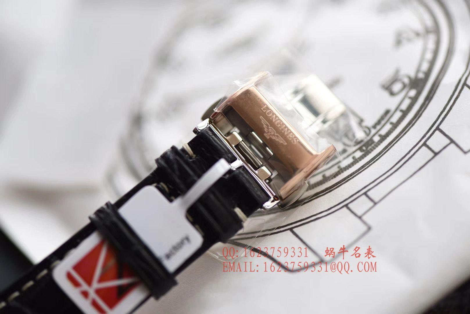 【独家视频评测KZ一比一超A高仿手表】浪琴名匠系列L2.628.6.78.3玫瑰金腕表