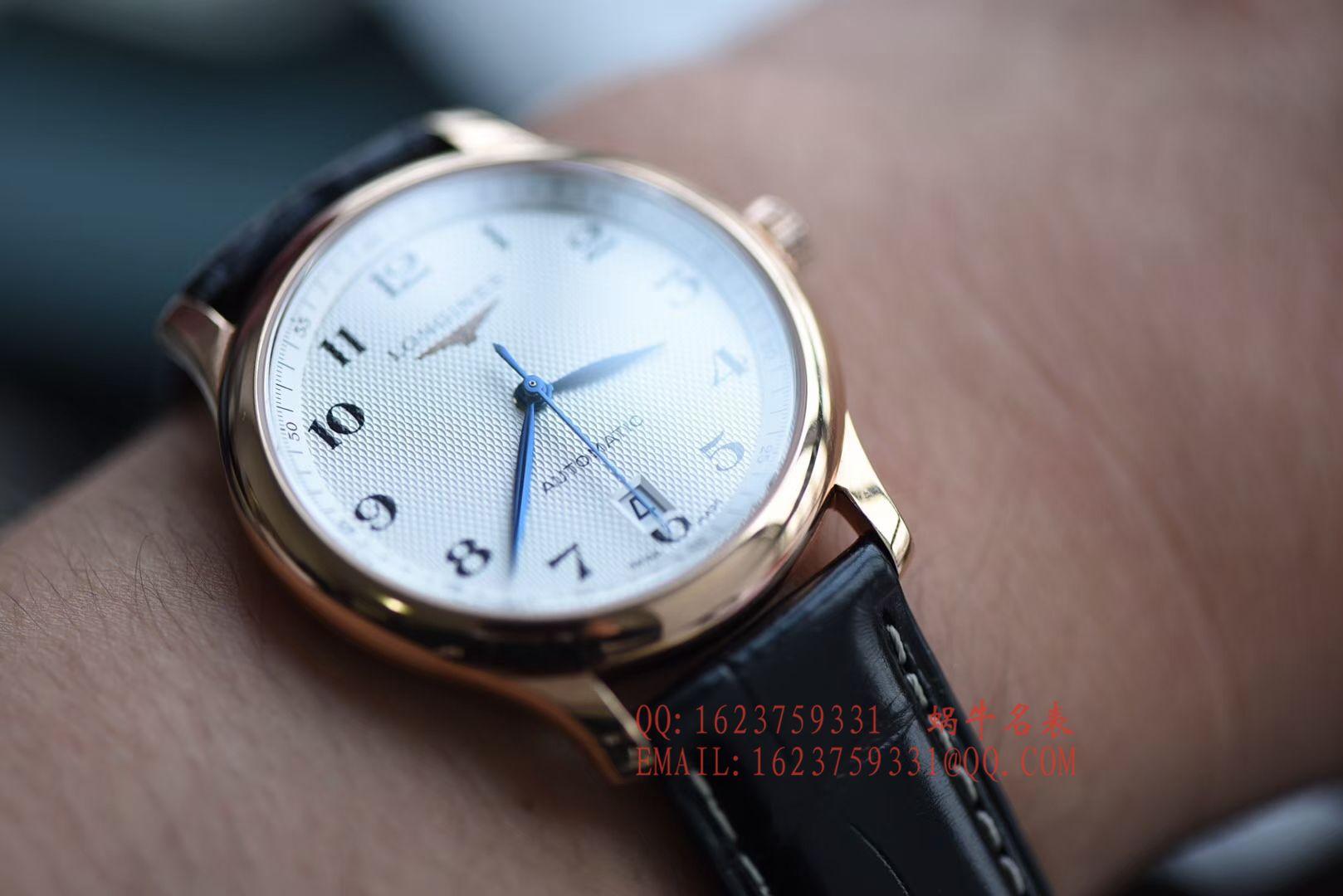 【独家视频评测KZ一比一超A高仿手表】浪琴名匠系列L2.628.6.78.3玫瑰金腕表 / L095
