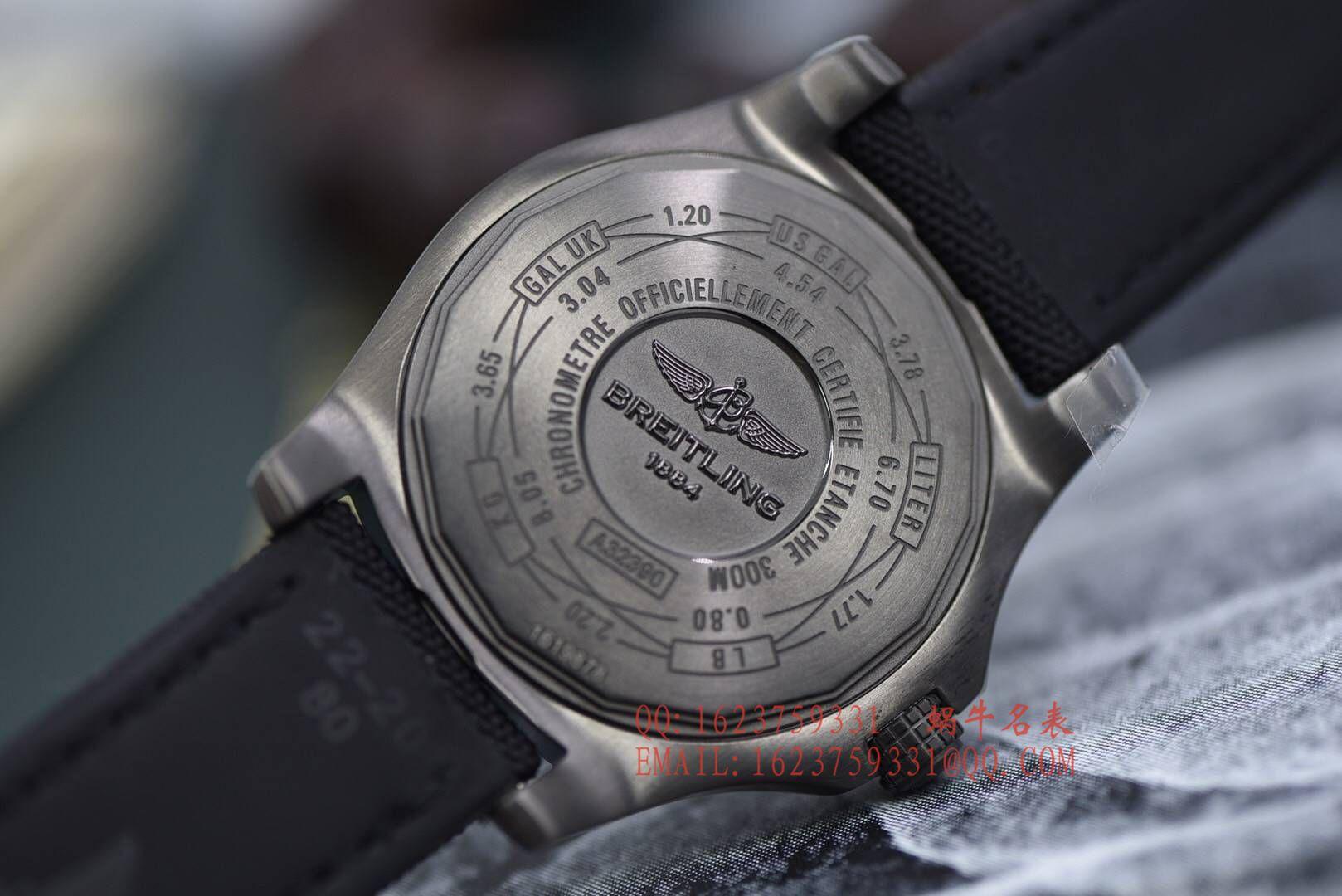 【独家视频评测GF厂顶级高复刻手表】百年灵复仇者系列A3239011|BC35|152S|A20S.1复仇者二代GMT腕表 / BLBA075