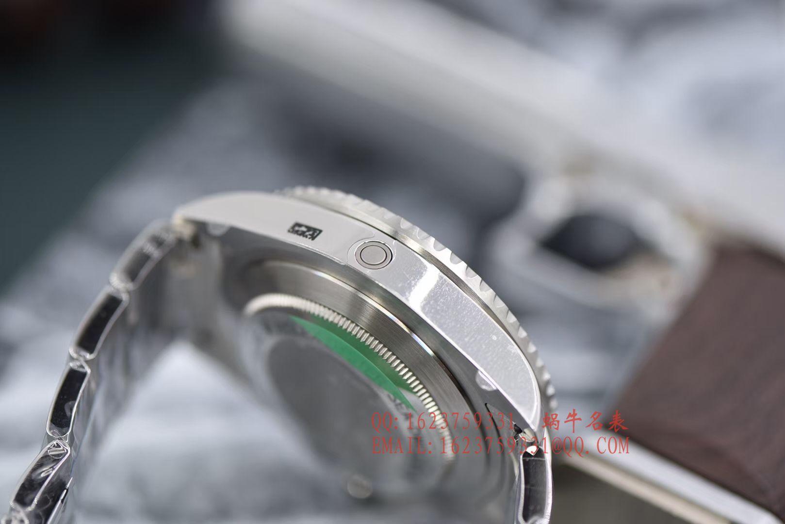 【独家视频评测VR一比一超A高仿手表】劳力士ROLEX海使型系列Rolex Sea-Dweller 50周年【单红】126600腕表 / RBF193