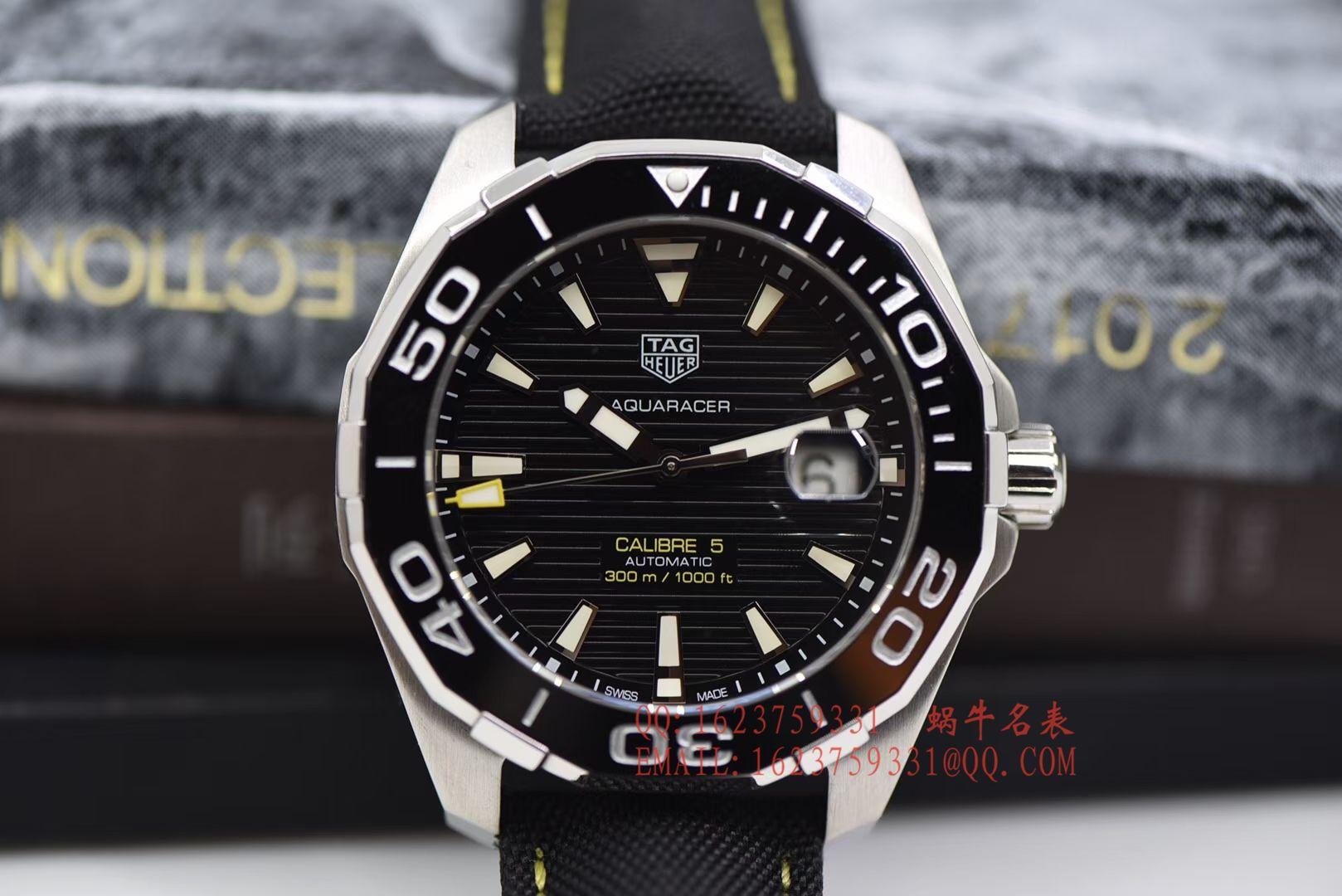 【原单正品、专柜验货】李易峰同款泰格豪雅竞潜300M腕表系列系列WAY201A.FT6069腕表 / TG057