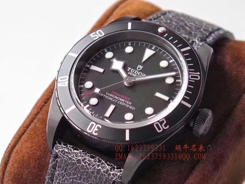【ZF一比一超A高仿手表】帝舵启承系列M79230DK-0004小黑花黑武士腕表