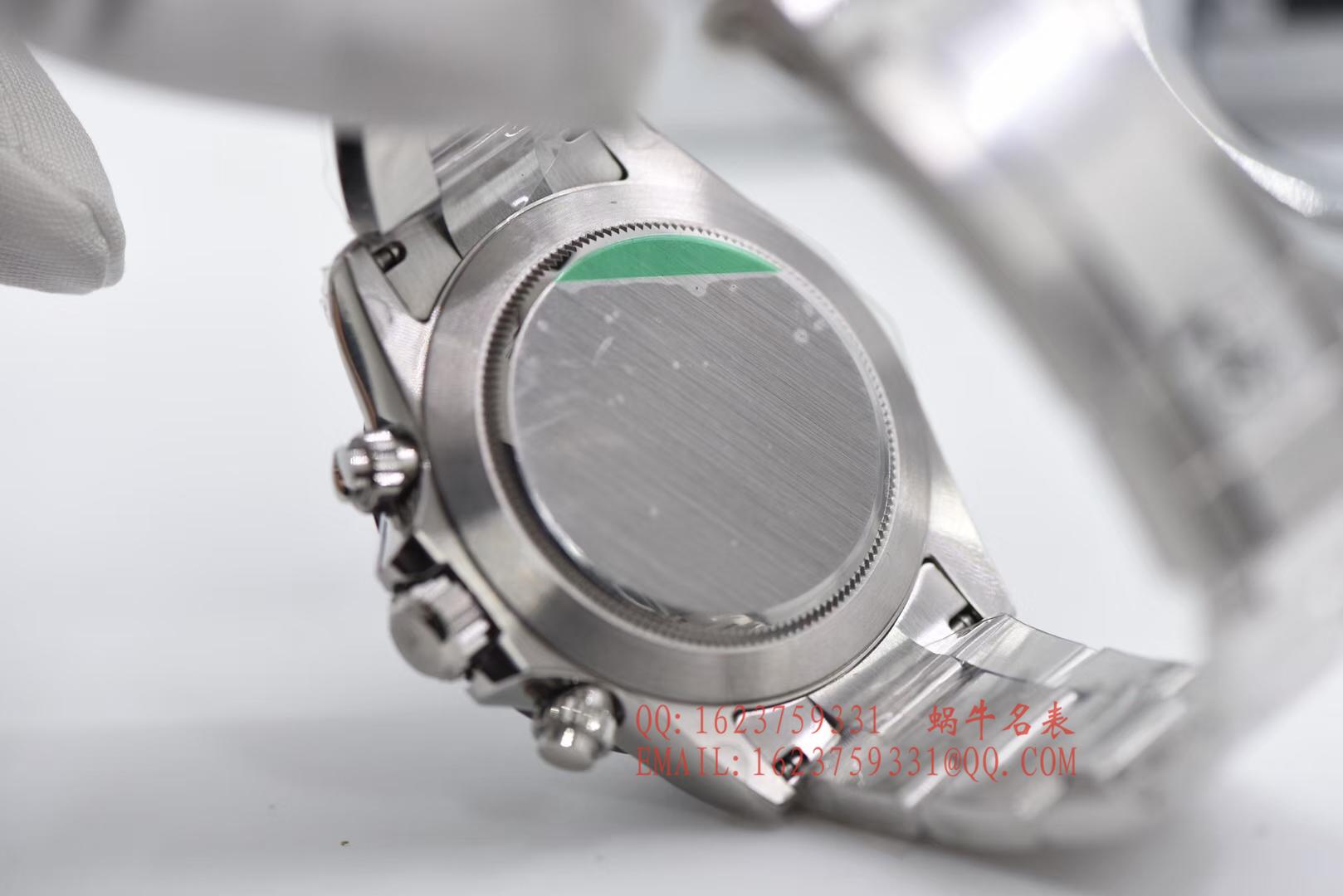【AR一比一超A高仿手表】劳力士宇宙计型迪通拿系列116500LN-78590白盘腕表《熊猫迪通拿》 / RBI022