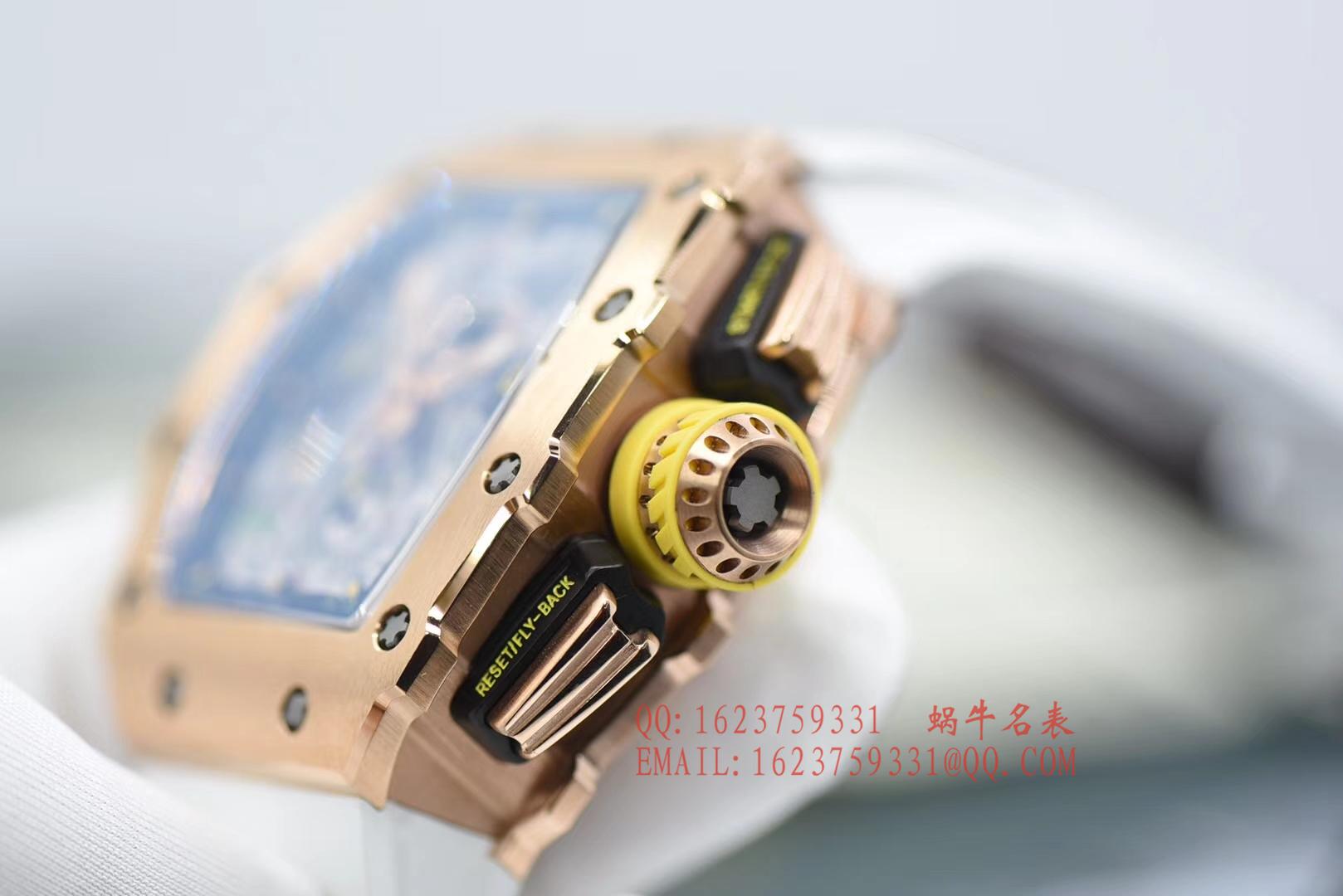 【独家视频评测KV厂顶级复刻手表】里查德米尔RICHARD MILLE男士系列RM 11-03RG腕表 / RM 011D