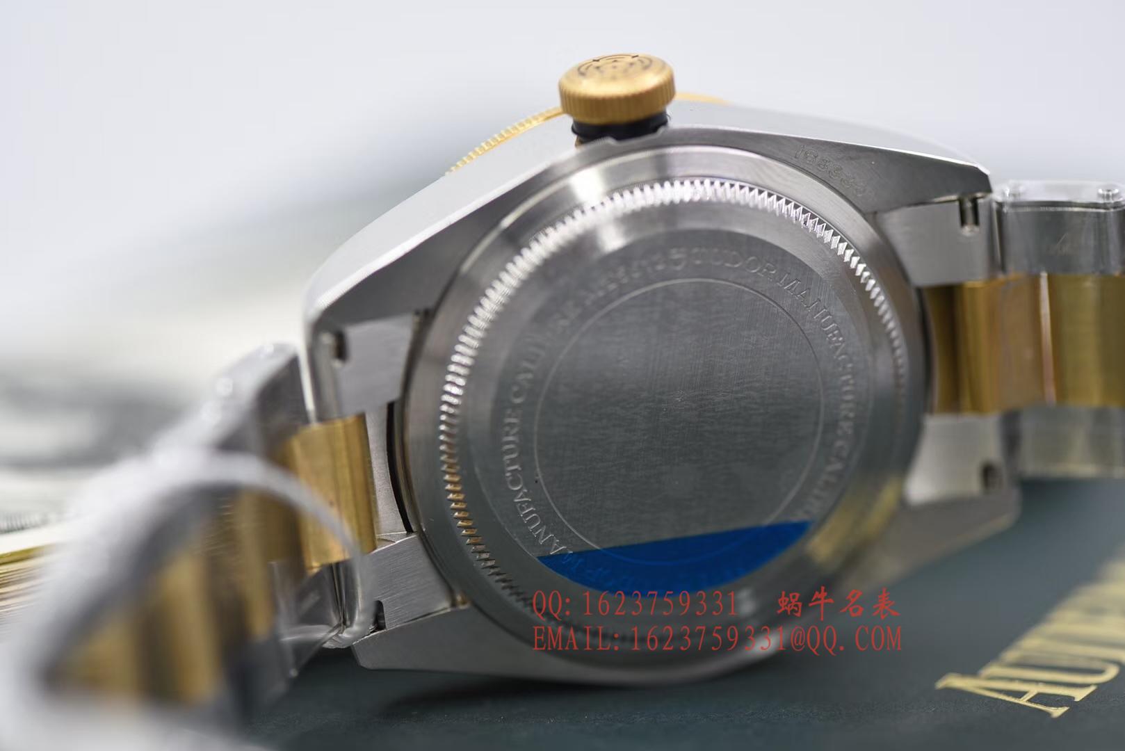 【独家视频评测ZF厂1:1精仿手表】帝舵TUDOR启承系列79733N腕表 / DTBB017