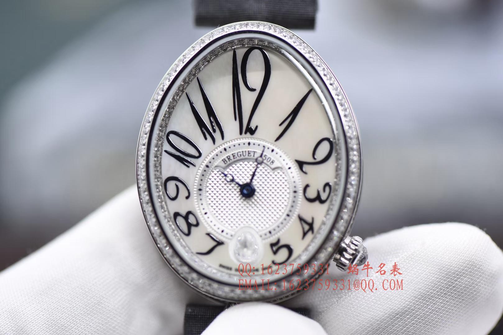 【独家视频评测一比一超A高仿】宝玑那不勒斯皇后系列8918BB/58/864/D00D女士腕表