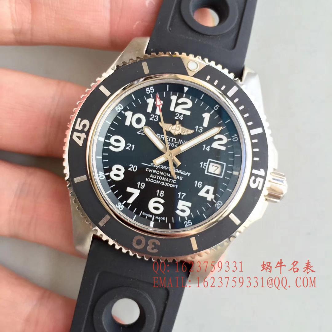 【GF一比一超A高仿手表】百年灵超级海洋二代系列腕表(SUPEROCEAN Ⅱ)A17392D7/BD68/162A腕表 / BL037