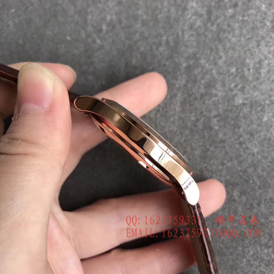 【台湾一比一精仿手表】百达翡丽古典表系列5296R-010 玫瑰金腕表