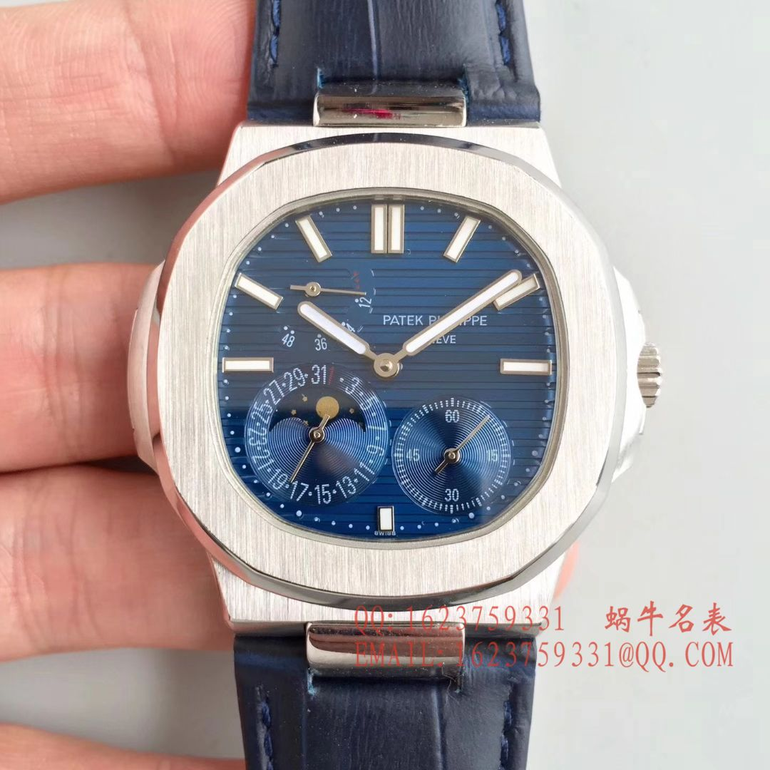 【台湾超A1:1高仿手表】百达翡丽鹦鹉螺5712/1A-001、5724G-001、5722G-001、5724R-001、5712G-001、5712GR-001