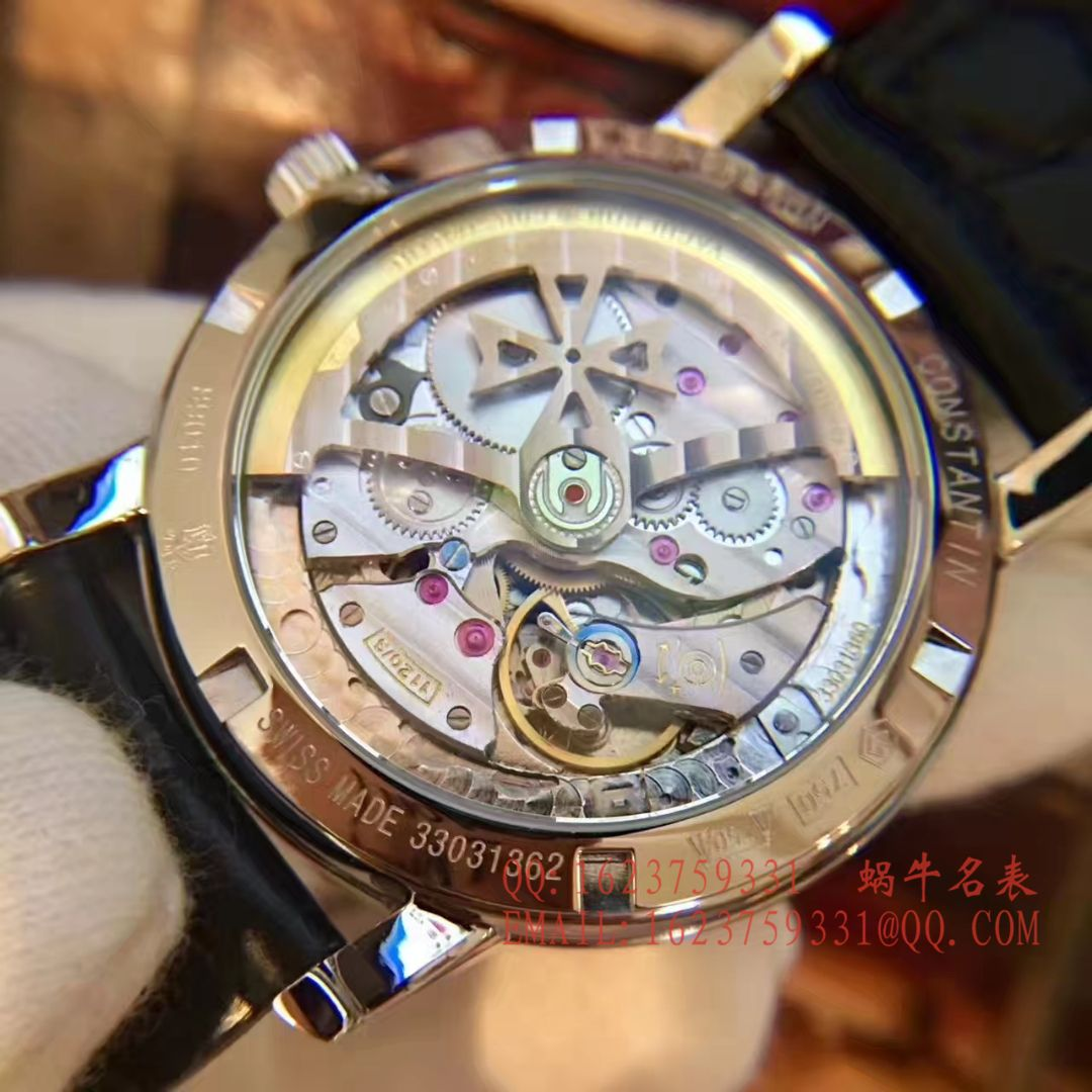 【台湾厂一比一超A高仿手表】江诗丹顿传袭系列43075/000R-9737腕表