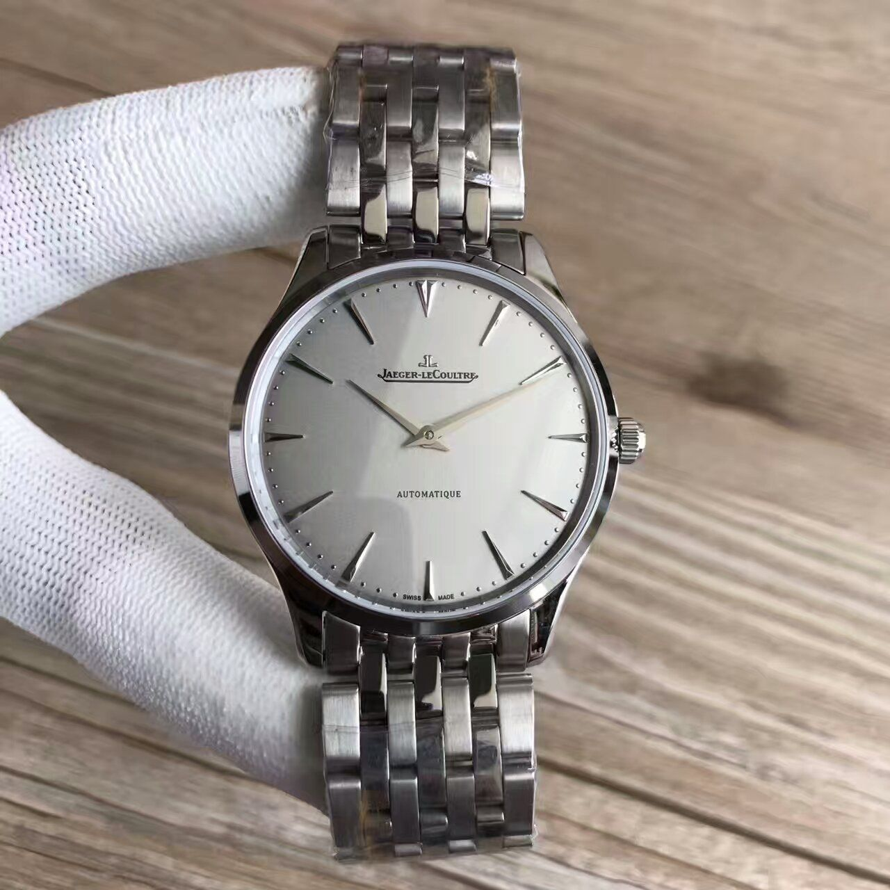 【台湾厂一比一高仿手表】积家超薄大师系列Q1338421腕表