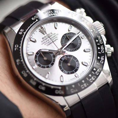 【AR一比一超A高仿手表】劳力士宇宙计型迪通拿系列116519ln-0024计时腕表价格报价