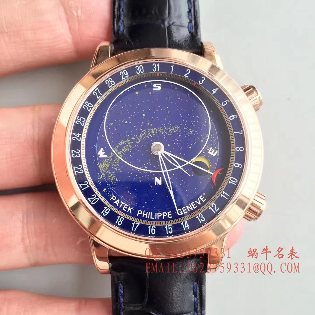 【视频评测】复刻百达翡丽超级复杂功能计时系列6102P-001 、6104G-001、铂金腕表/6102R-001 玫瑰金腕表 / BD219