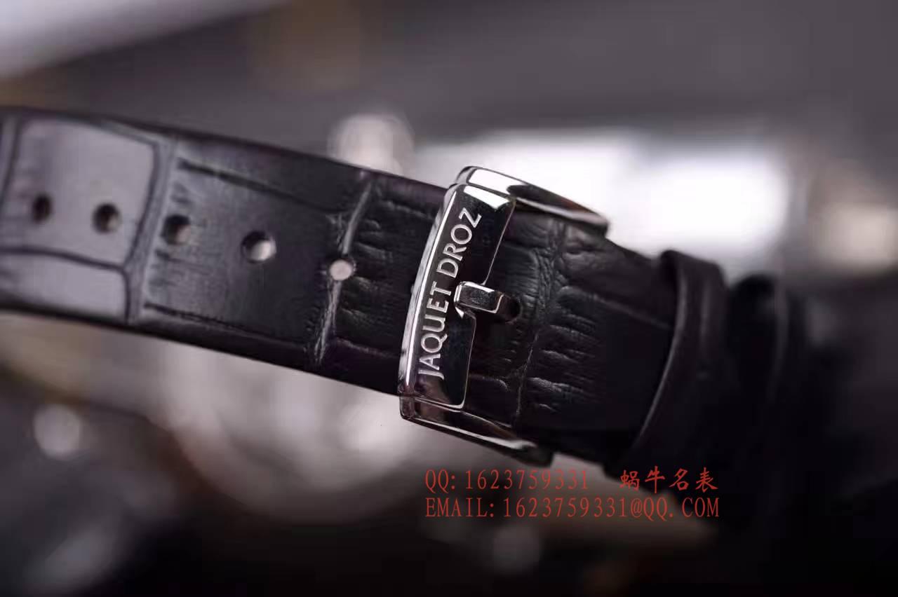 雅克德罗新款陨石贝母面⭕独立大秒针▶️极具视觉冲击感的陨石贝母面⭕圈口及表面均手工镶钻 / YK015