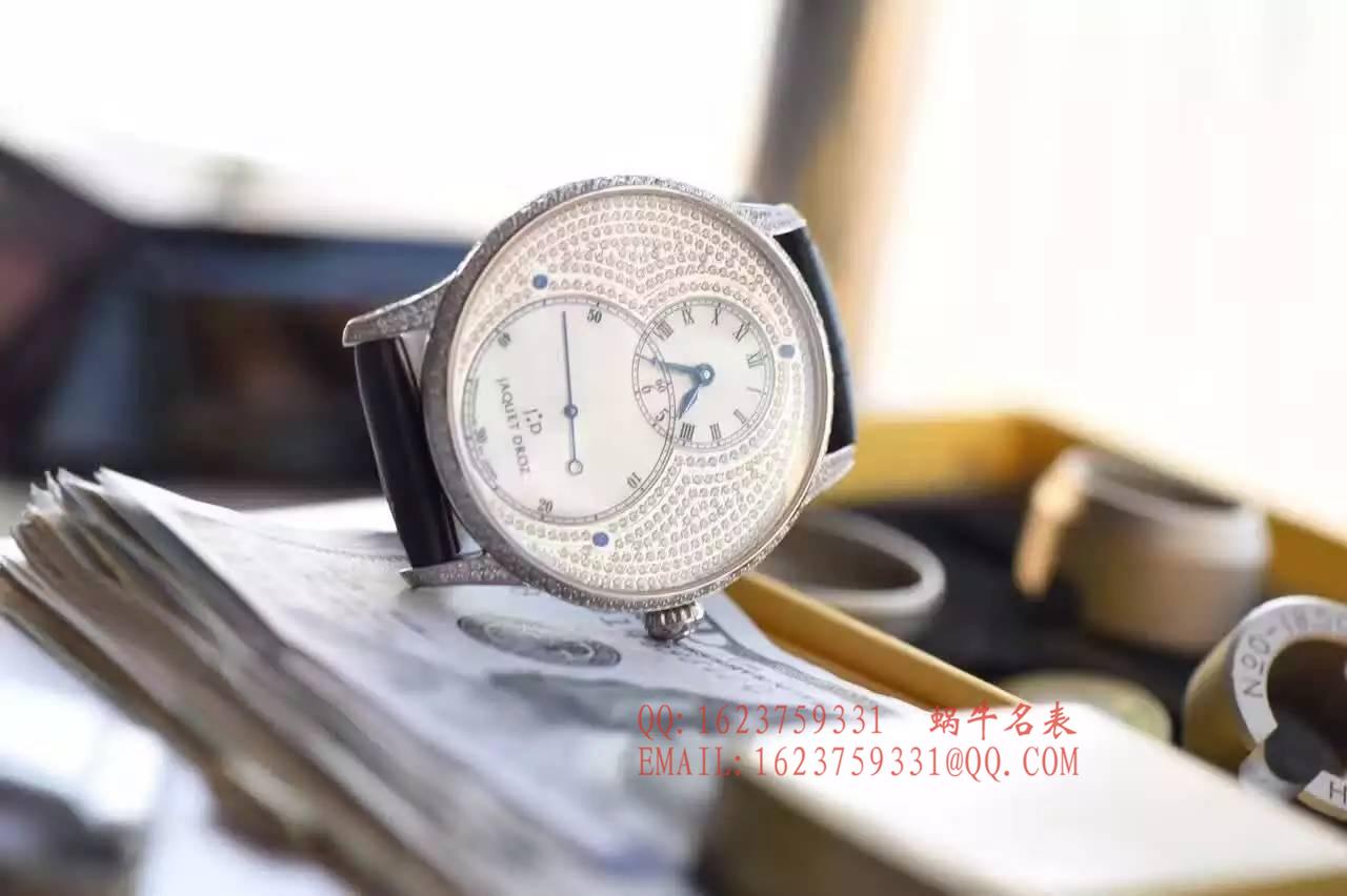 【实拍图鉴赏】一比一精仿手表之雅克德罗大秒针系列J003034205腕表 / 雅克德罗YK03