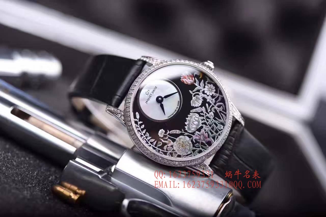 【实拍图鉴赏】KS厂1:1顶级复刻手表之雅克德罗艺术工坊系列J005004201女表 / 雅克德罗YK06
