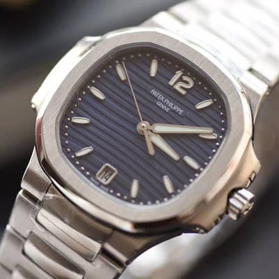 【PF一比一超A高仿手表】百达翡丽运动系列7118/1A-001腕表(鹦鹉螺)女表价格报价