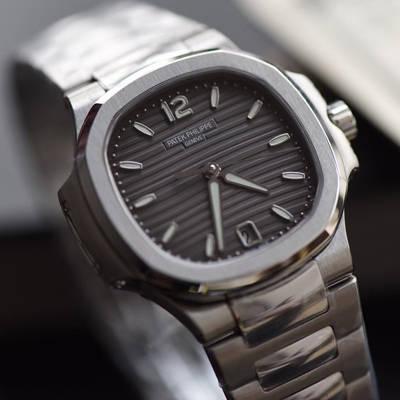 【PF厂顶级复刻手表】百达翡丽运动系列7118/1A-011女士腕表(鹦鹉螺)