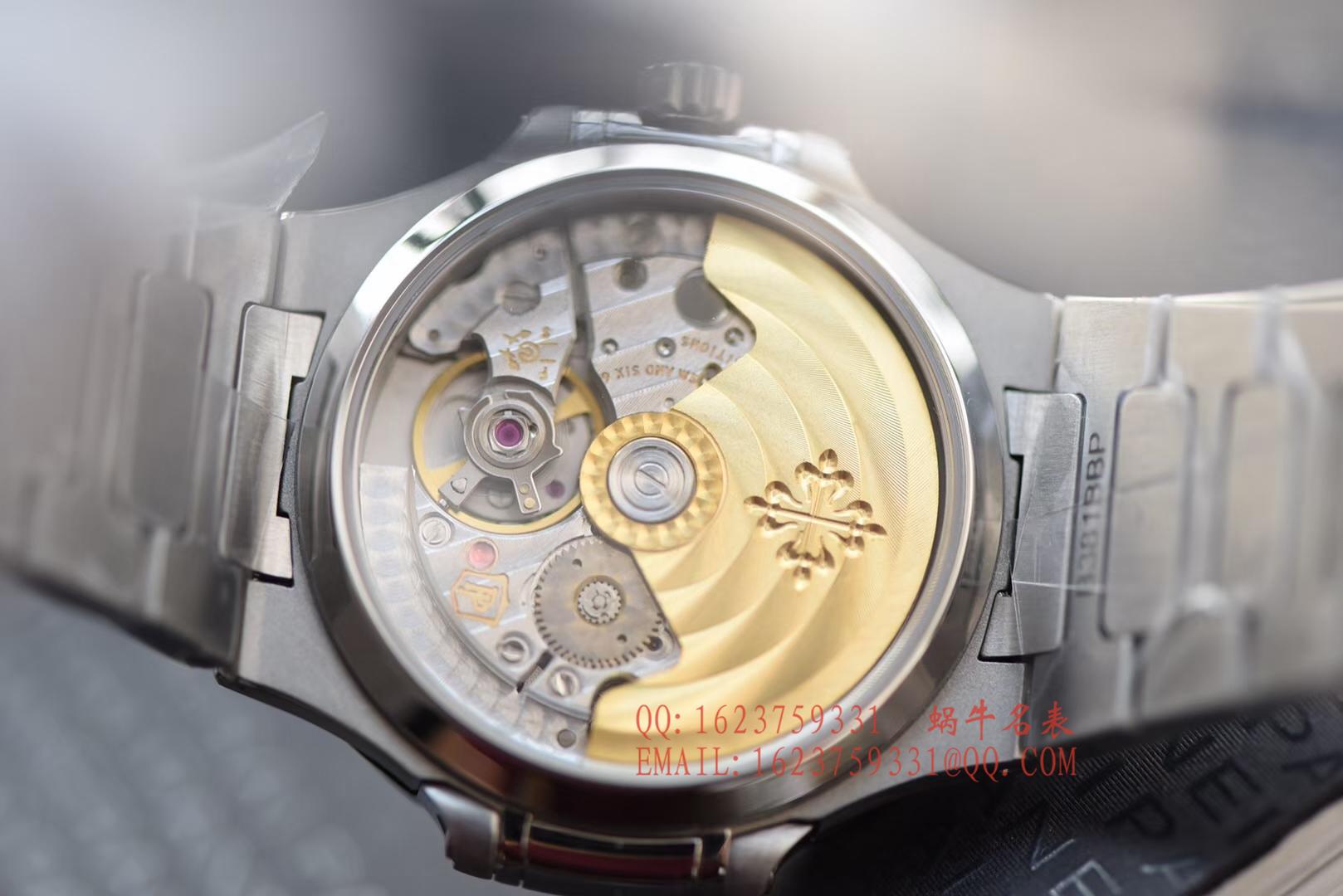 【PF一比一超A高仿手表】百达翡丽运动系列7118/1A-011女士腕表(鹦鹉螺)