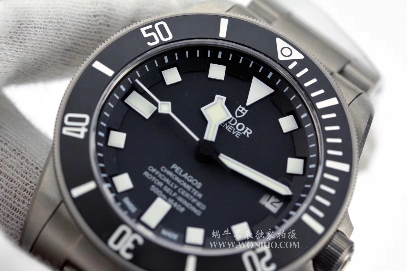 【独家视频测评XF一比一超A精仿手表】帝舵PELAGOS系列战斧25500TN 黑钛土豆黑色战斧