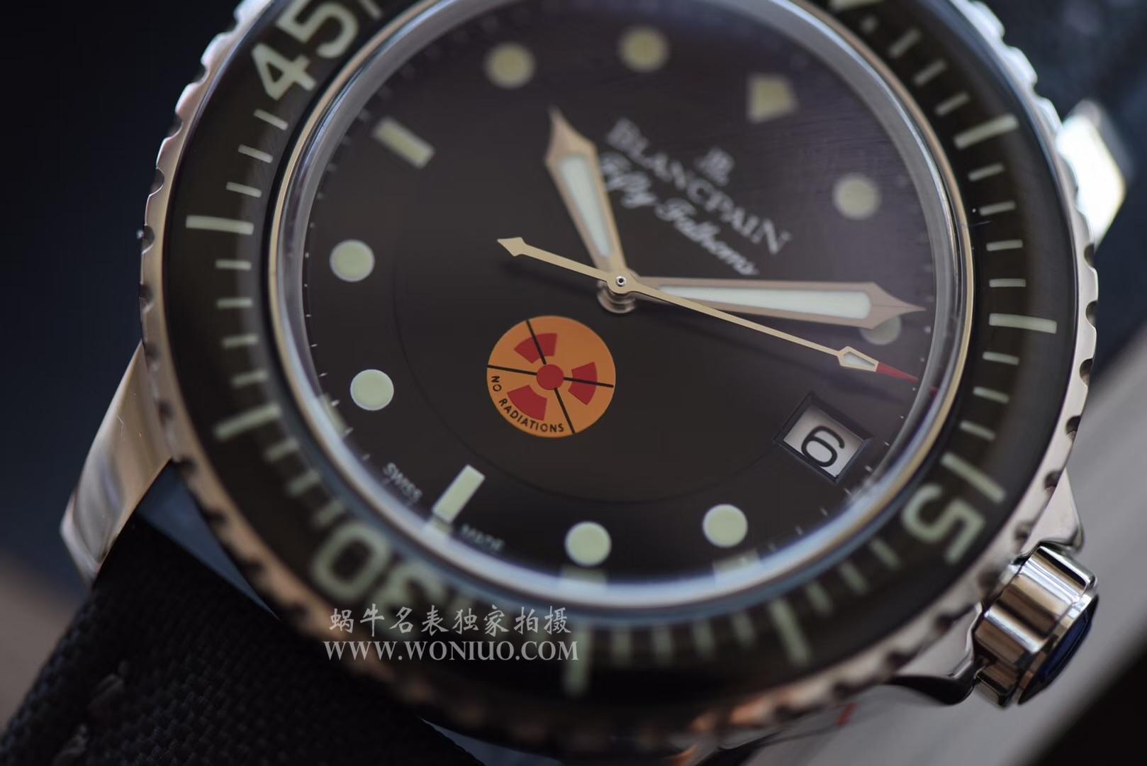 【ZF一比一超A高仿手表】宝珀五十噚系列5015B-1130-52生化危机版本腕表 / BP029