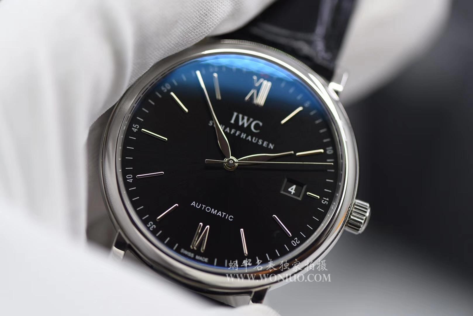 【独家视频测评MK厂1:1高仿复刻手表】万国 IWC柏涛菲诺系列IW356502 腕表