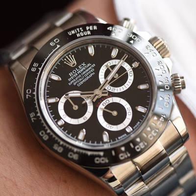 【AR厂一比一超A高仿手表】劳力士904钢宇宙计型迪通拿系列116500LN-78590黑盘机械手表