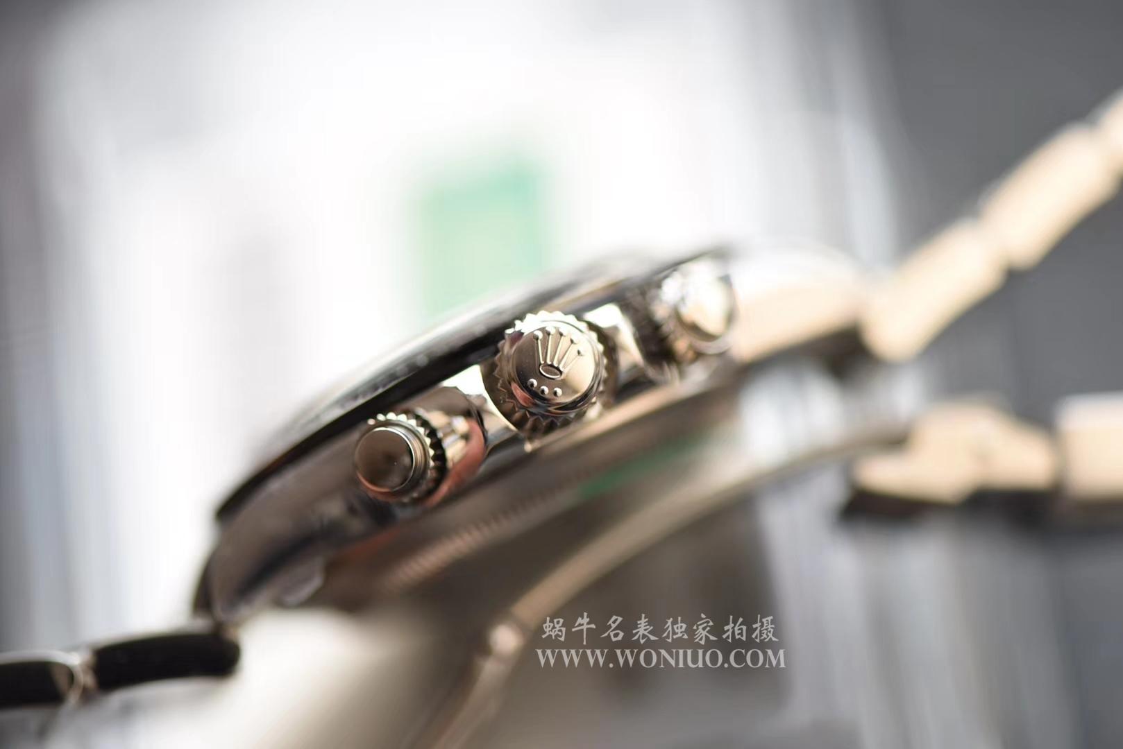 【AR厂一比一超A高仿手表】劳力士904钢宇宙计型迪通拿系列116500LN-78590黑盘机械手表 / R204