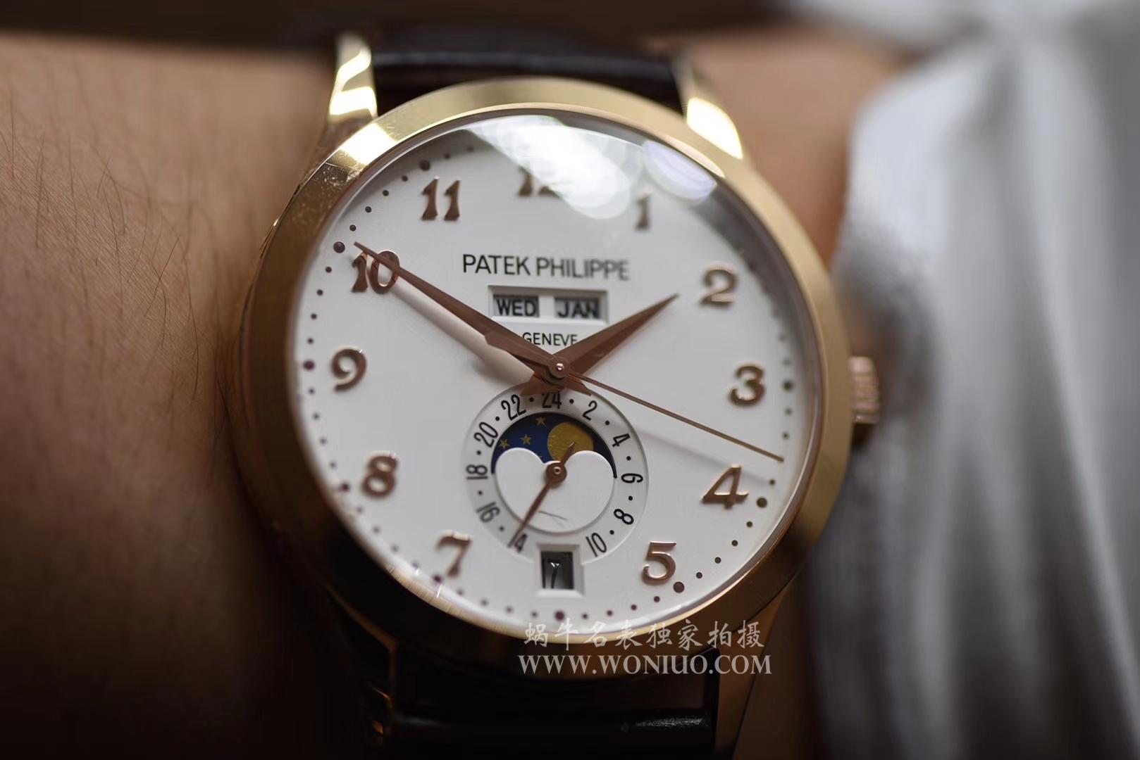 【台湾厂复刻手表】百达翡丽复杂功能计时系列5396R-011腕表 / BD171
