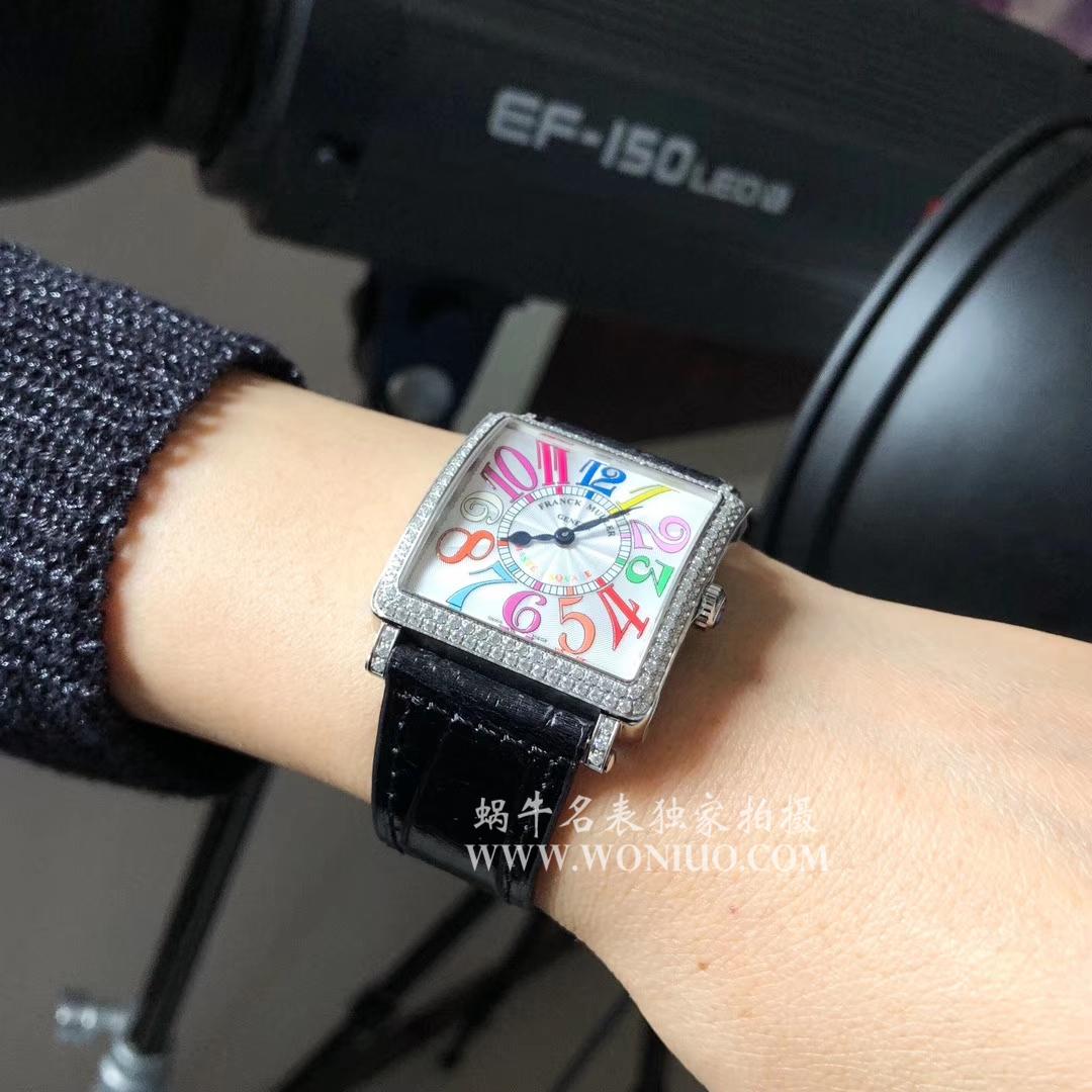 【GF复刻工艺新极致——最强女表】Franck Muller法穆兰MASTER SQUARE系列6002 M QZ女士石英腕表