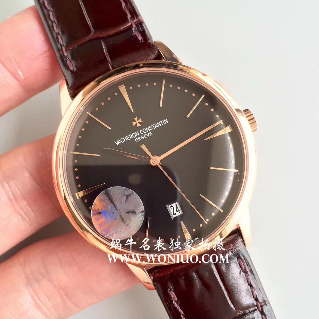 【MK一比一精仿手表】江诗丹顿传承系列85180/000R-9166腕表