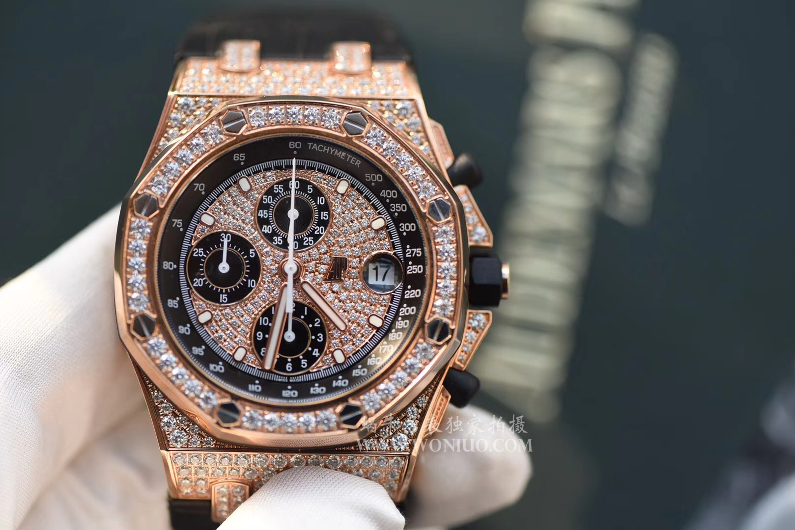 【JF厂一比一复刻手表】爱彼满天星皇家橡树离岸型系列26067OR.ZZ.D002CR.01机械腕表