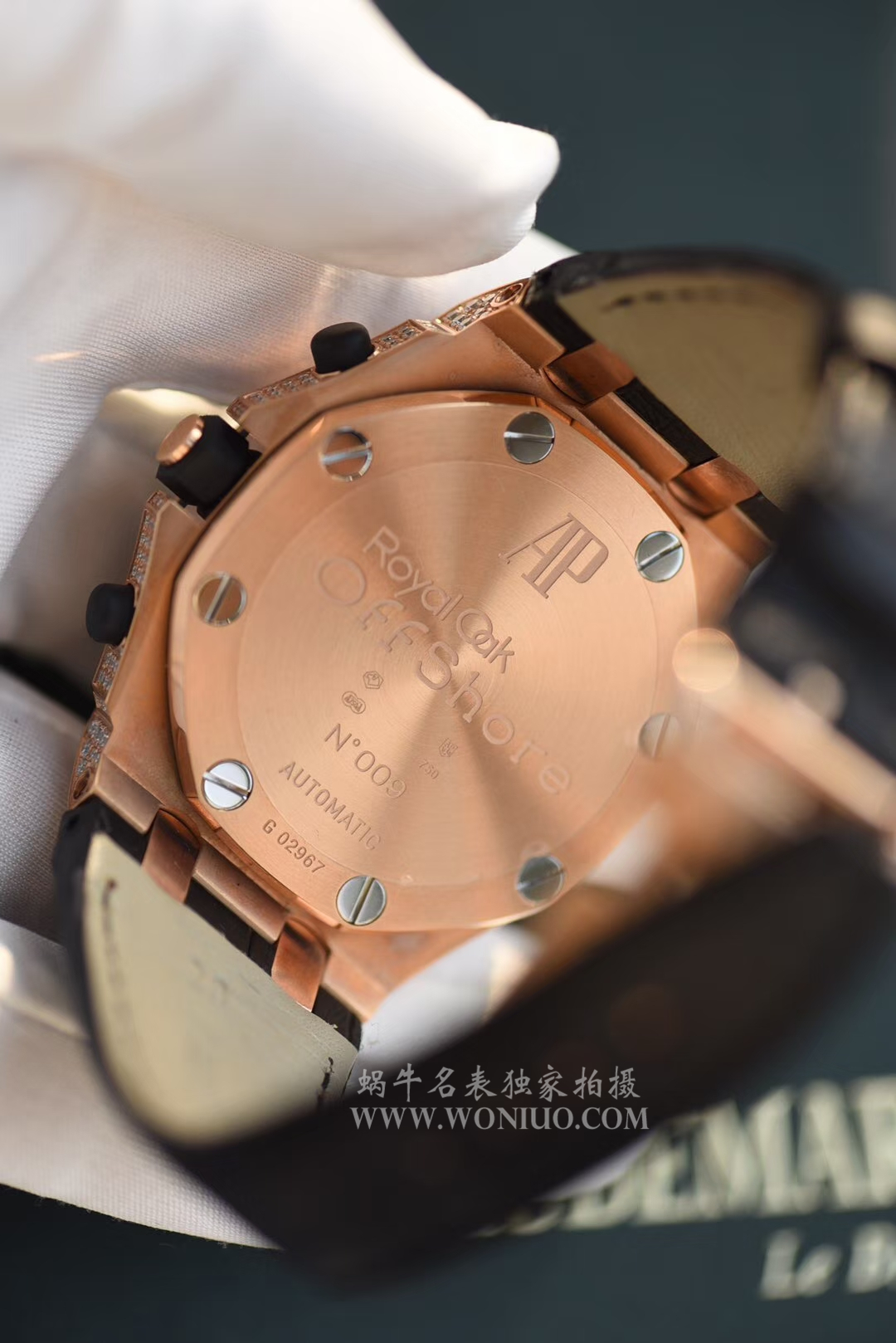 【JF厂一比一复刻手表】爱彼满天星皇家橡树离岸型系列26067OR.ZZ.D002CR.01机械腕表 / AP054