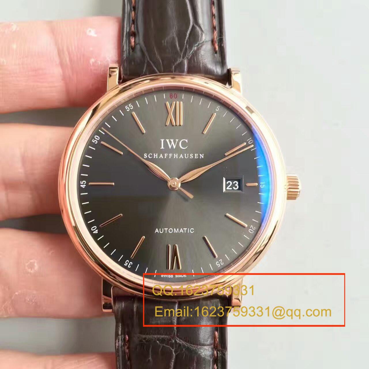 【独家视频测评MK厂1:1复刻手表】万国柏涛菲诺系列 IW356501男士腕表 / WGAH058