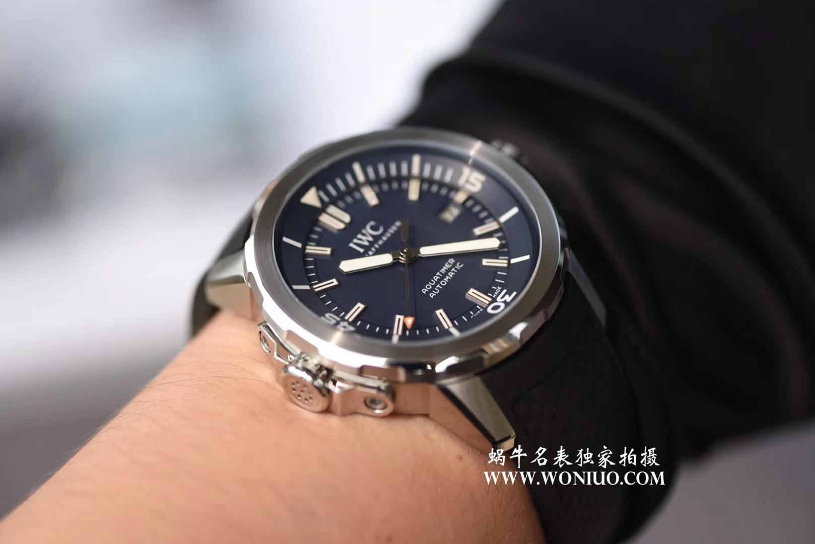 【HBBV6厂顶级复刻手表】IWC万国海洋时计系列IW329005腕表 / WG318